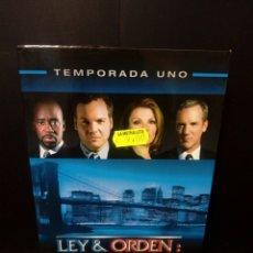 Series de TV: LEY & ORDEN: ACCIÓN CRIMINAL TEMPORADA 1. Lote 152443106