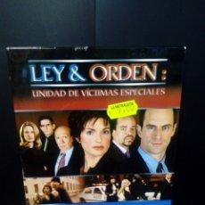 Series de TV: LEY & ORDEN - UNIDAD DE VÍCTIMAS ESPECIALES- SEGUNDA TEMPORADA 2000-2001 DVD. Lote 152443637