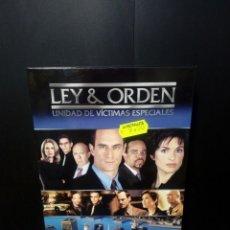 Series de TV: LEY & ORDEN UNIDAD DE VÍCTIMAS ESPECIALES TERCERA TEMPORADA 2001/2002 DVD. Lote 152443788