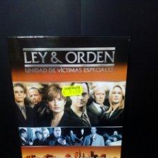 Series de TV: LEY & ORDEN - UNIDAD DE VÍCTIMAS ESPECIALES CUARTA TEMPORADA 2002/2003 DVD. Lote 152443914