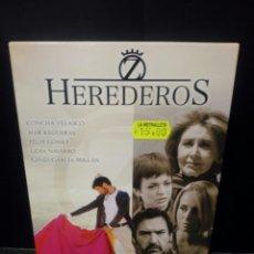 Series de TV: HEREDERO SEGUNDA TEMPORADA DVD. Lote 152444812