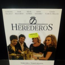 Series de TV: HEREDEROS TERCERA TEMPORADA DVD. Lote 152444878