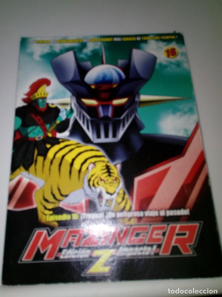 DVD. MAZINGER Z. EPISODIO 16. EDICIÓN IMPACTO. B37DVD (Series TV en DVD)