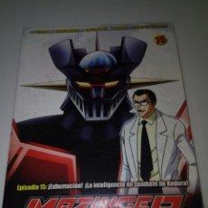 Series de TV: DVD. MAZINGER Z. EPISODIO 15. EDICIÓN IMPACTO. B37DVD. Lote 152559286