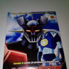 Series de TV: DVD. MAZINGER Z. EPISODIO 14. EDICIÓN IMPACTO. B37DVD. Lote 152559410