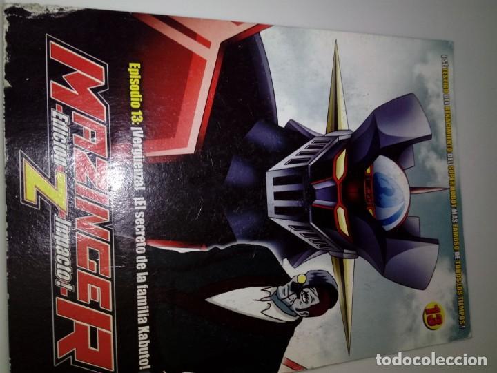DVD. MAZINGER Z. EPISODIO 13. EDICIÓN IMPACTO. B37DVD (Series TV en DVD)