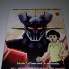 Series de TV: DVD. MAZINGER Z. EPISODIO 12 EDICIÓN IMPACTO. B37DVD. Lote 152559638