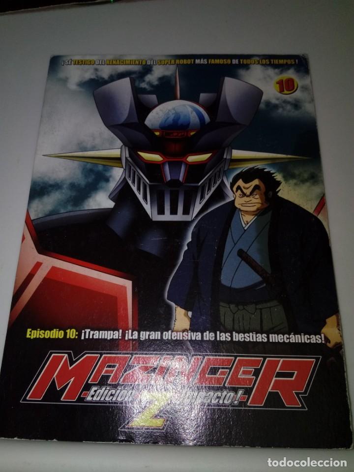 DVD. MAZINGER Z. EPISODIO 10. EDICIÓN IMPACTO. B37DVD (Series TV en DVD)