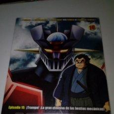 Series de TV: DVD. MAZINGER Z. EPISODIO 10. EDICIÓN IMPACTO. B37DVD. Lote 152559838