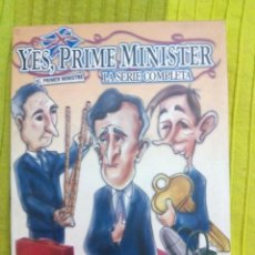 Series de TV: YES PRIME MINISTER DVD. Lote 152581838