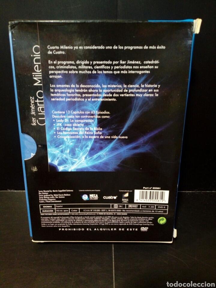Cuarto Milenio primera temporada primera parte DVD
