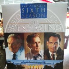 Series de TV: THE WEST WING (ALA OESTE DE LA CASA BLANCA SERIE COMPLETA, 6 DVD. DURACIÓN MÁS DE 15 HORAS. Lote 234762455
