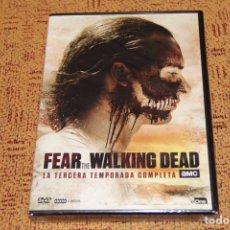 Series de TV: SERIE FEAR THE WALKING DEAD TEMPORADA 3 DVD NUEVA. Lote 153107116