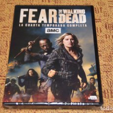 Series de TV: SERIE FEAR THE WALKING DEAD TEMPORADA 4 DVD NUEVA. Lote 153107301