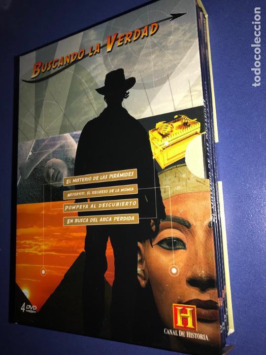 BUSCANDO LA VERDAD (CANAL DE HISTORIA) 4 DVD (Series TV en DVD)