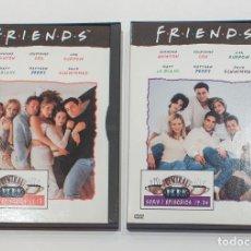 Series de TV: DVD. FRIENDS. SERIE 1 EPISODIOS 13-18 Y EPISODIOS 19-24.. Lote 153651770