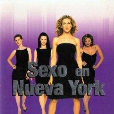 Series de TV: SEXO EN NUEVA YORK PRIMERA TEMPORADA COMPLETA ( 2 DISCOS). Lote 153838078