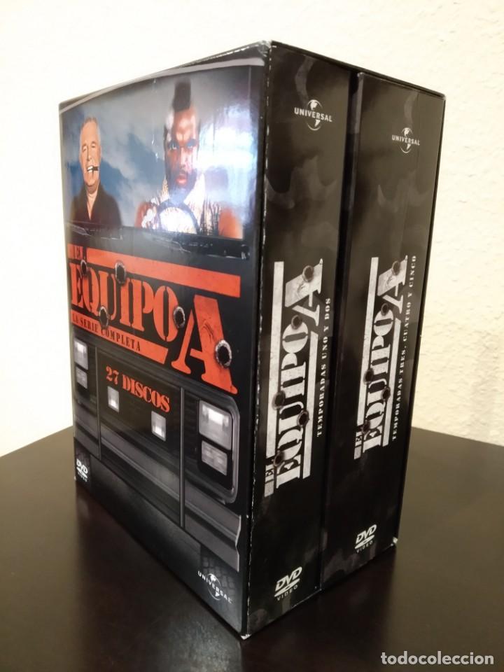 EL EQUIPO A -COFRE CON 27 DVD'S- COMPLETA, NUEVA (Series TV en DVD)