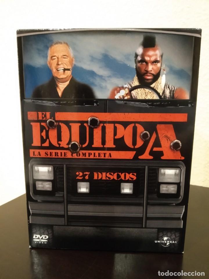 Series de TV: EL EQUIPO A -COFRE CON 27 DVD'S- COMPLETA, NUEVA - Foto 2 - 153839878