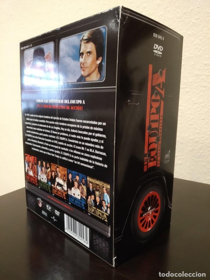 Series de TV: EL EQUIPO A -COFRE CON 27 DVD'S- COMPLETA, NUEVA - Foto 3 - 153839878