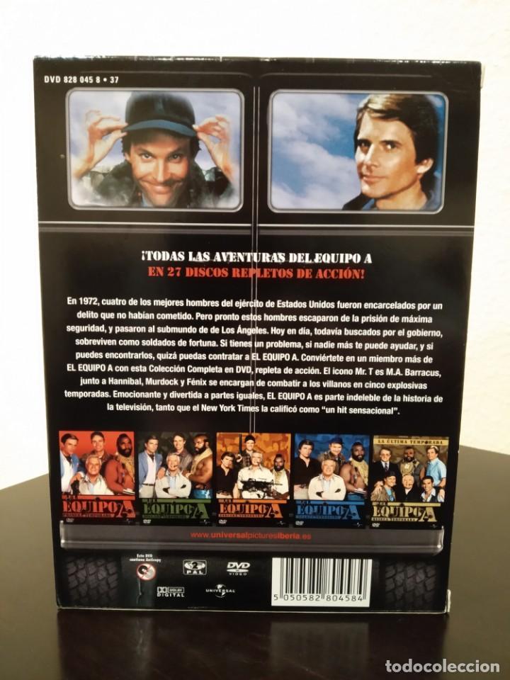 Series de TV: EL EQUIPO A -COFRE CON 27 DVD'S- COMPLETA, NUEVA - Foto 4 - 153839878