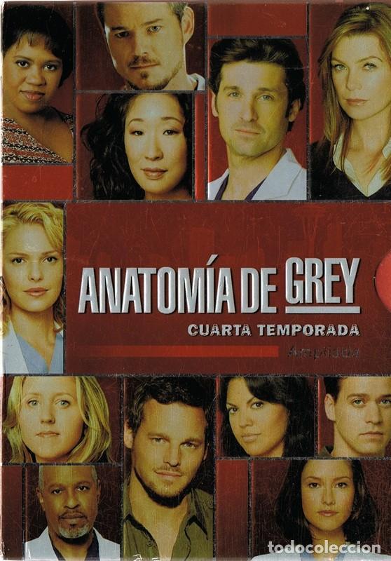 anatomía de grey cuarta temporada ( 5 discos) - Comprar Series de TV ...
