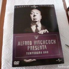 Series de TV: DVD SERIES TV-ALFRED HITCHCOCK PRESENTA..TEMPORADA 1ª COMPLETA(39 EPISODIOS). Lote 153879014