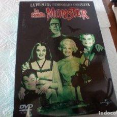 Series de TV - DVD SERIES TV- LA FAMILIA MONSTER (PRIMERA TEMPORADA COMPLETA) - 153908698