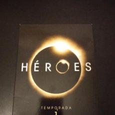 Series de TV: DVD SERIE DE TV - HEROES - TEMPORADA 1 COMPLETA. Lote 154495050