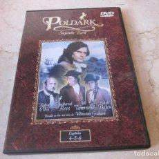 Séries de TV: POLDARK SEGUNDA PARTE DVD - CAPITULOS 4,5 Y 6 - BBC TV. Lote 154575334