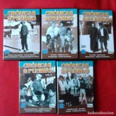 Series de TV: CRÓNICAS DE UN PUEBLO.5 DVD CON SUS 20 MEJORES CAPÍTULOS. ANTONIO MERCERO.. Lote 154670026