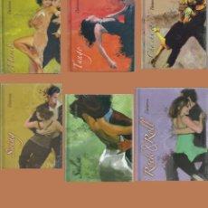 Series de TV: LOTE DE CURSO DE BAILE (PRECINTADOS) LIBRO + DVD. Lote 154990170
