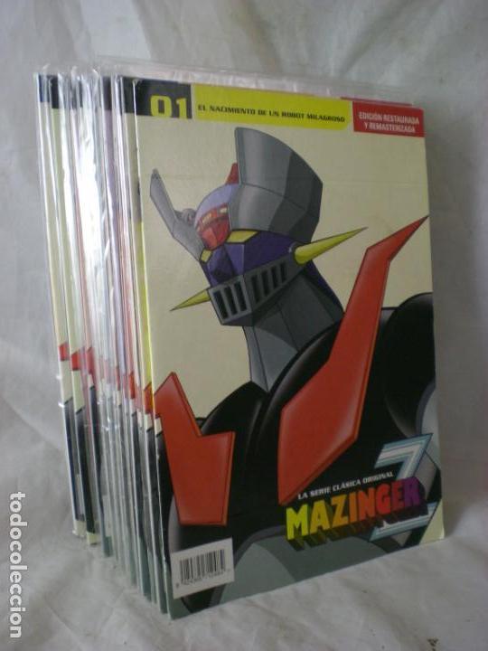 MAZINGER Z DVD - 15 CAPITULOS (Series TV en DVD)