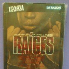 Series de TV: RAÍCES - SERIE COMPLETA 14 DVDS - LA RAZÓN. Lote 155600210