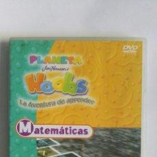 Series de TV: PLANETA HOOBS MATEMÁTICAS DVD INFANTIL. Lote 155628712