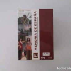 Series de TV: MEMORIA DE ESPAÑA, DESDE SUS PRIMEROS POBLADORES HASTA LA ACTUALIDAD, SERIE TVE 14 DVD. Lote 155783158