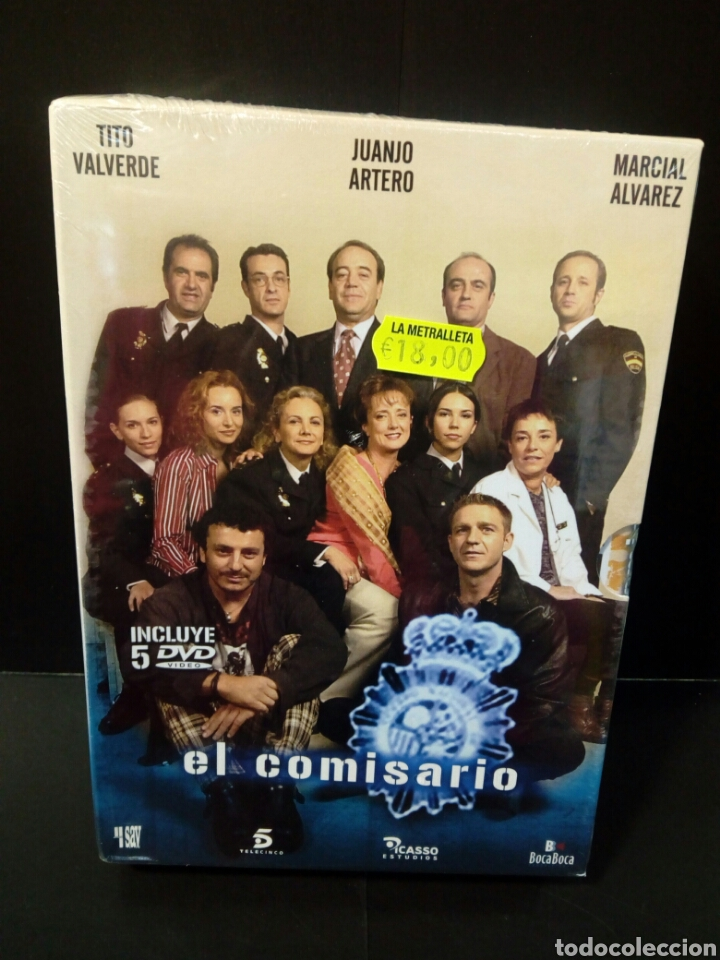 EL COMISARIO DVD (Series TV en DVD)