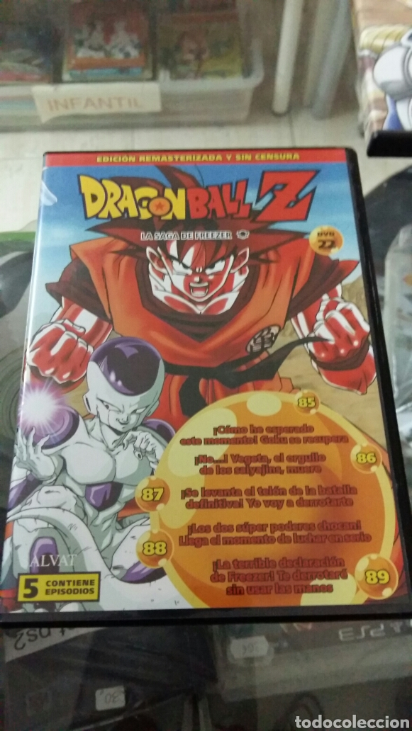 DRAGON BALL Z N22 (Series TV en DVD)