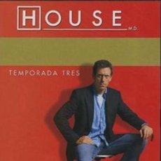 Series de TV: DVD HOUSE TEMPORADA TRES DISCO 1 CONTIENE 4 EPISODIOS, PRECINTADO. Lote 156179922