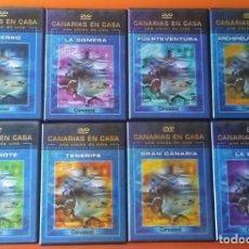 Series de TV: CANARIAS EN CASA COLECCIÓN 8 DVD DOCUMENTALES. Lote 156200834