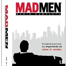 Series de TV: SERIE COMPLETA MAD MEN 7 TEMPORADAS (92 EPISODIOS+15 HORAS EXTRA) A ESTRENAR. Lote 156387066
