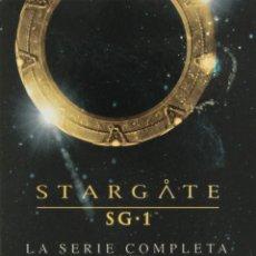 Series de TV: SERIE COMPLETA DE 10 TEMPORADAS. STARGATE SG 1 ( SERIE EN CASTELLANO ). Lote 156396942