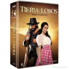 Series de TV: SERIE COMPLETA EN DVD TIERRA DE LOBOS EN 16 DVDS ( NUEVA A ESTRENAR PRECINTADA ). Lote 156412394