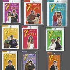 Series de TV: LOTE SEGUNDA TEMPORA DE 7 VIDAS (NO COMPLETA). Lote 156532606