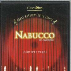 Series de TV: NABUCCO, GIUSEPPE VERDI. Lote 156638202