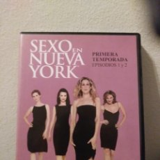 Series de TV: SEXO EN NUEVA YORK.PRIMERA TEMPORADA.EPISODIOS 1&2.DVD. Lote 156660493