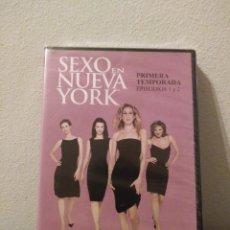 Series de TV: SEXO EN NUEVA YORK.PRIMERA TEMPORADA.EPISODIOS 1&2.DVD.. Lote 156660640