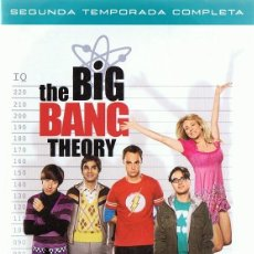 Series de TV: THE BIG BANG THEORY SEGUNDA TEMPORADA COMPLETA 4 DVD. Lote 156717202