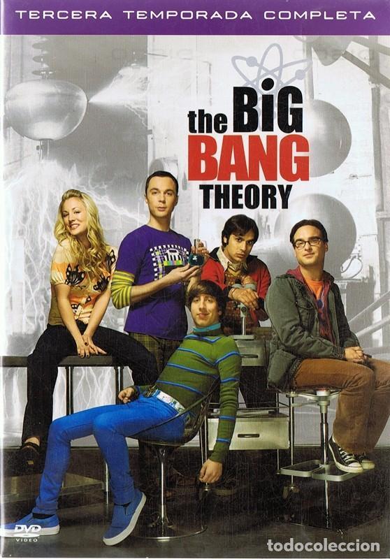 THE BIG BANG THEORY TERCERA TEMPORADA COMPLETA 3 DVD (Series TV en DVD)