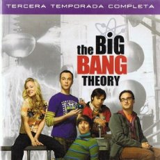 Series de TV: THE BIG BANG THEORY TERCERA TEMPORADA COMPLETA 3 DVD. Lote 156717334